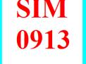Sim vinaphone 0913 đầu cổ số đẹp giá rẻ